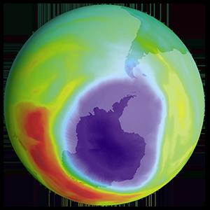 ozone layer hole