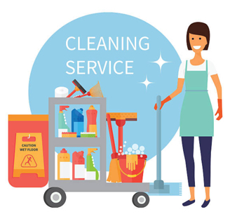 cleaning service professional