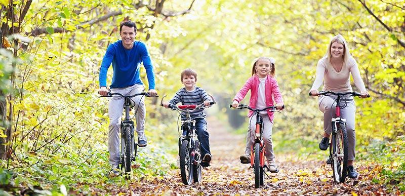 healthy family natural environment