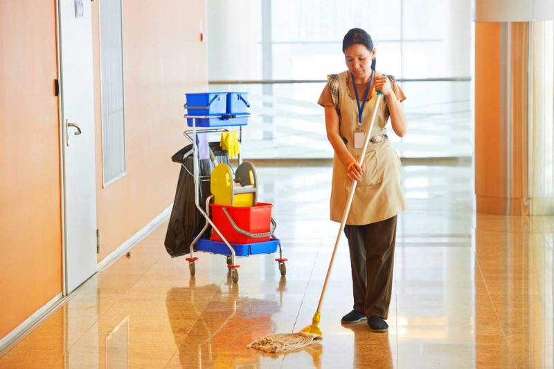 commercial cleaning vs residential